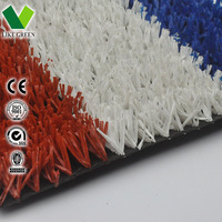 Red Artificial Grass For Athletic Track