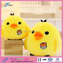 Home decoration fabrics small toy stuffed chicken