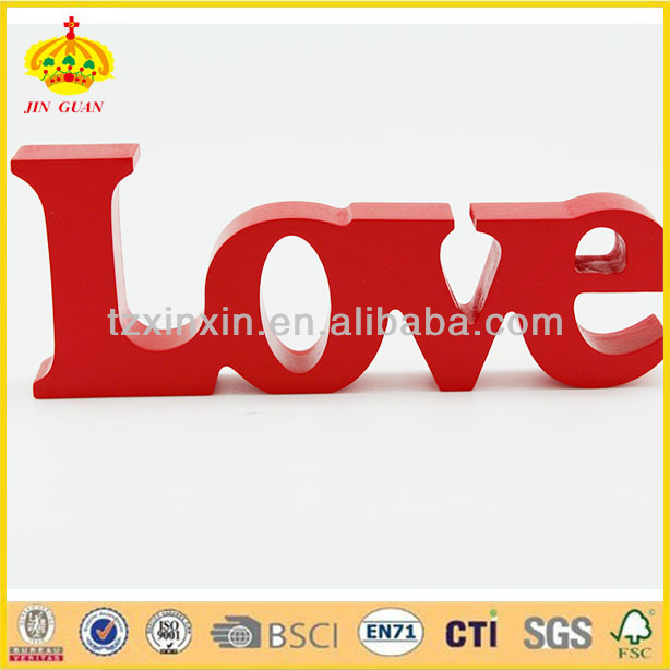 it is . the theme of family,love free standing decorative wooden words