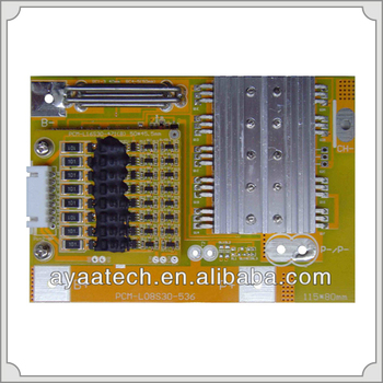 Hot Sale PCM Board 8-16S Li-ion /Li-polymer Lifepo4 Battery Pack