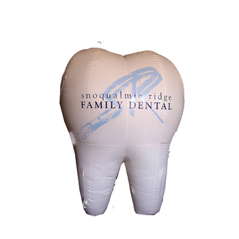 advertising tooth balloon, inflatable tooth, tooth helium balloon S3069