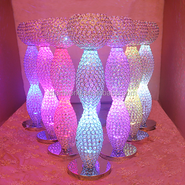 2017 light centerpiece crystal wedding centerpiece table centerpiece wedding decoration party and wedding decoration (MCP-043)
