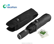 9 ribs Compact Windproof Travel Umbrella with Teflon Coating