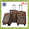 Leather Decorative Suitcases Luggage Protector Inflatable Suitcase Four Wheels Luggage