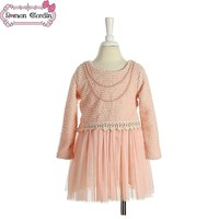 kids clothing wholesale children frocks designs winter party dress for girls