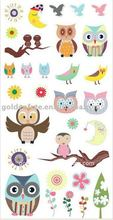 Multicolor Rub-on Stickers, Suitable for Gift and Scrapbook Decoration, Customized Logos are Welcome