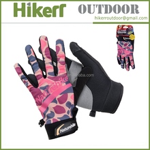 High quality touch screen hiking gloves outdoor sports riding gloves