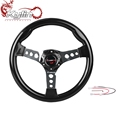Ryanstar 350mm 14inch universal Aluminum Racing Car Frame ABS 6-Hole steering wheel