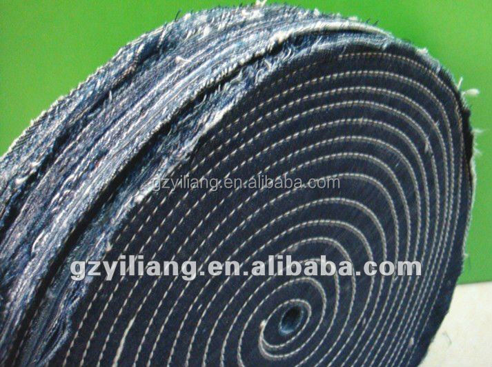 jeans buffing wheel use for rough grinding with abrasive sand