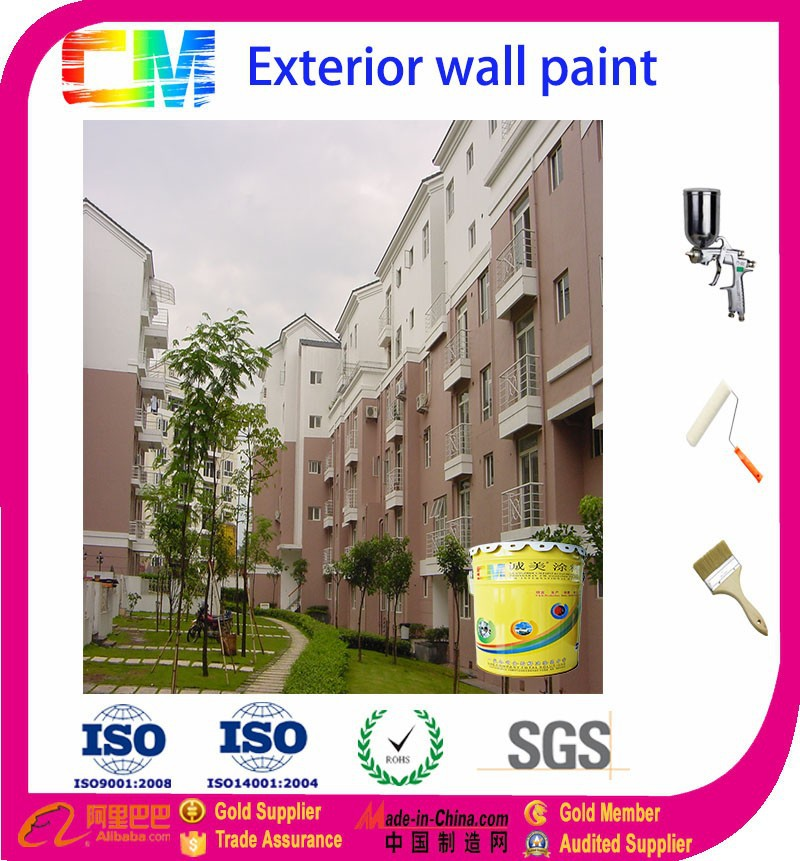 Exterior Nano Anti-bacterial wall paint for protecting