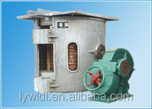 ISO9001 electric scrap metal melting equipment aluminum induction smelting furance