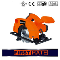 800W hand-held electric circular saw motor for with soft grip