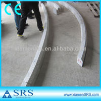 Europe curved granite stone curbing