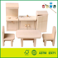 Wooden Kids Kitchen Play set