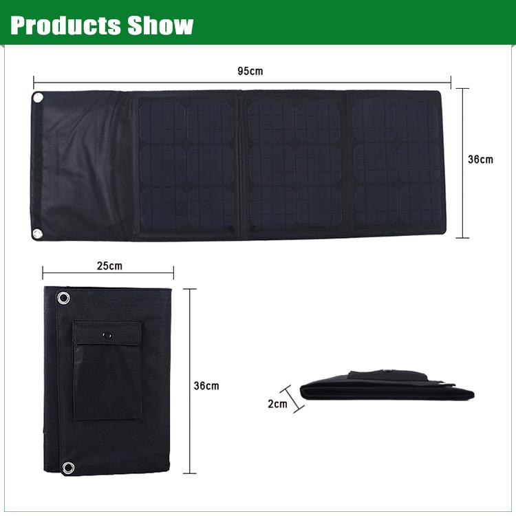 30w Flexible Thin Film Solar Panel Monocrystalline Solar
