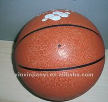 customize logo PU leather College basketball men