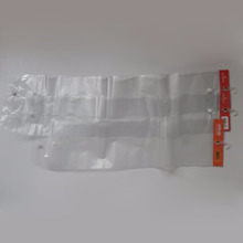Qingdao JTD Manufacturer Wholesale Customized Plastic PVC Header Packaging Bags For Hair Extensions