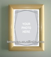 Promotional wholesale small size simple photo picture wooden frame design