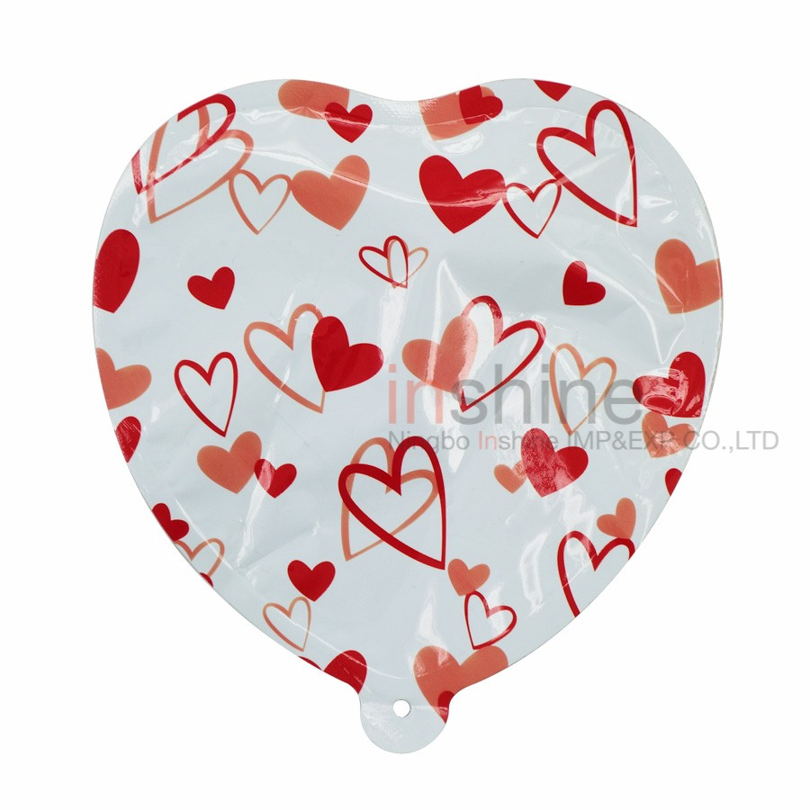 IN51239 Wholesale Heart Self Inflatable Balloon , Foil Balloon