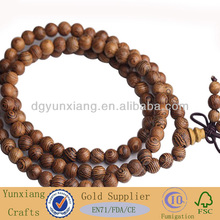 wooden bracelet with small bead