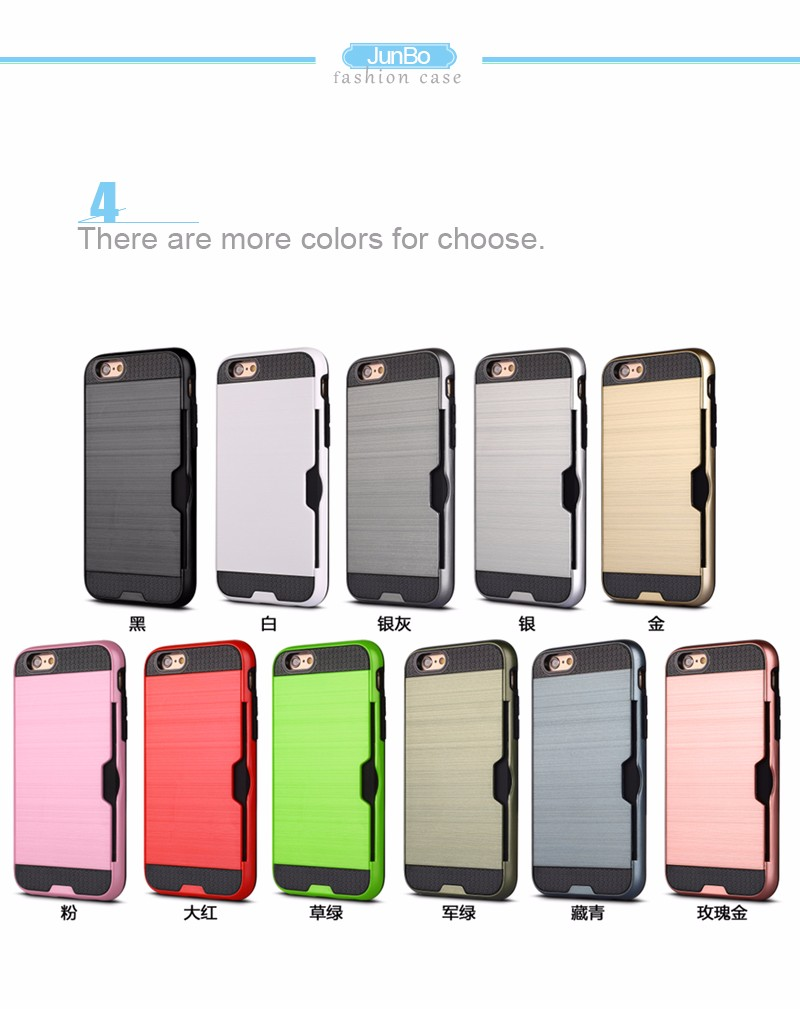 China Wholesale Websites Layer Protective Case Brushed Hard Cover For Samsung S8
