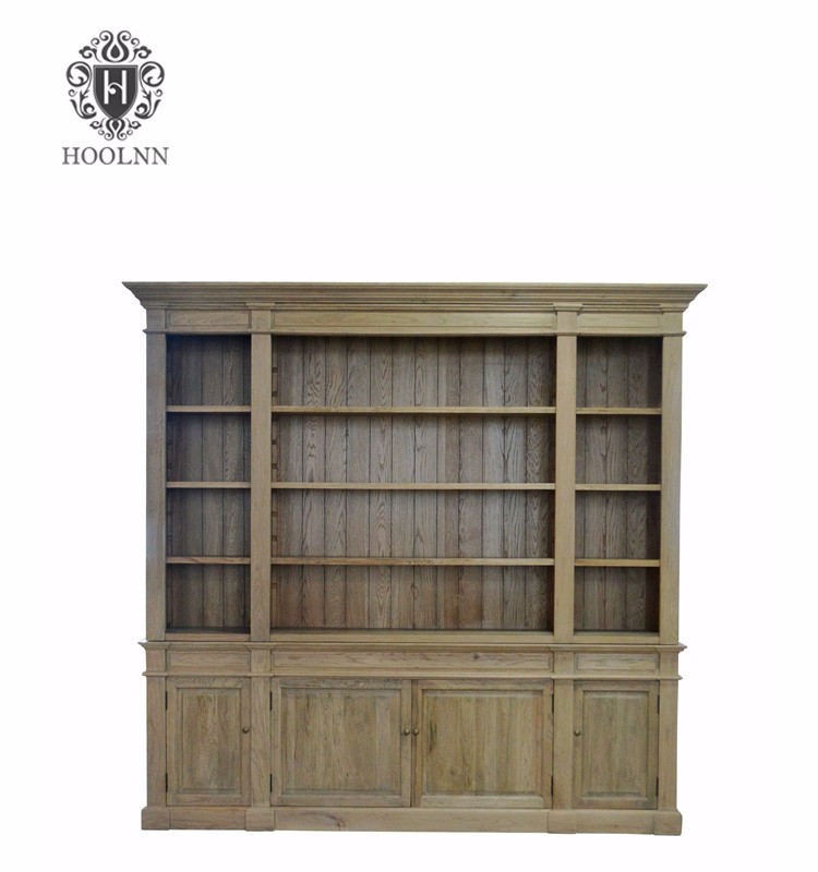 Antique French Country-style Solid Wood Bookcase P1803-240