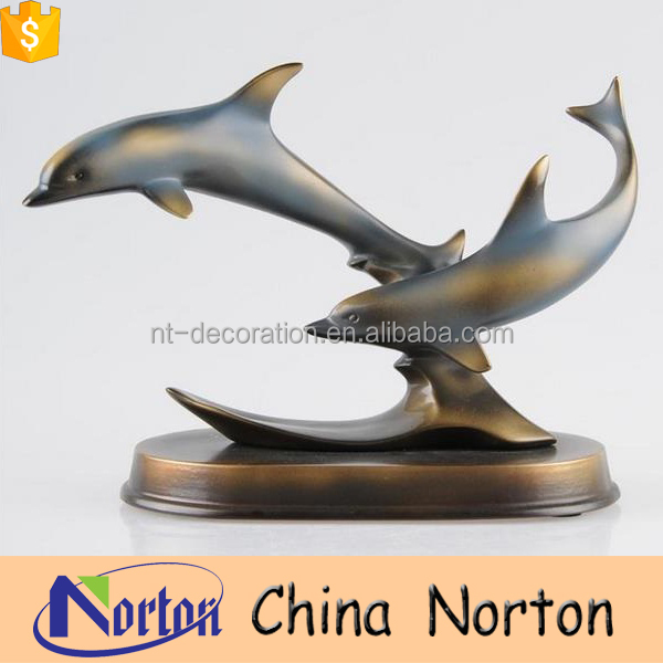 Amusement park dolphin fiberglass statue for sale NTRS-CS028Y