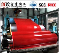 PPGI/ PPGL coil/color coated steel coil used for roofing sheet made in boxing