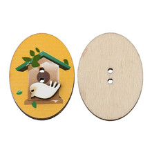 Wholesale wooden buttons bulk