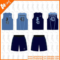LB42 wholesale cheap blank dry fit basketball jersey and shorts designs