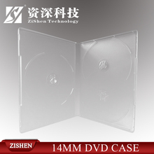 Transparent Single Plastic Dvd Case