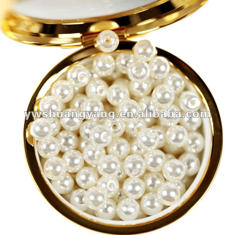 all size faux plastic pearl beads for pearl beaded evening bags