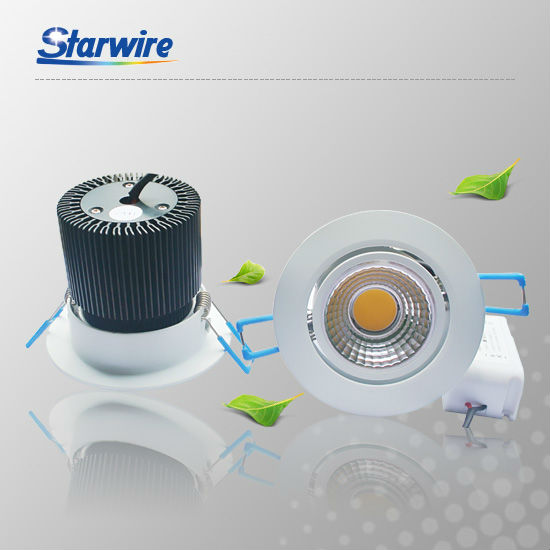 elegant design cob ceiling led downlight 15w reflect cup