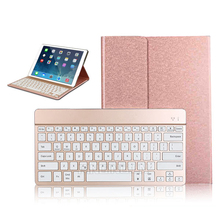 High Quality Separable Removable Wireless Keyboard Tablet Case PU Leather For iPad Pro 9.7 Inch Stand Case
