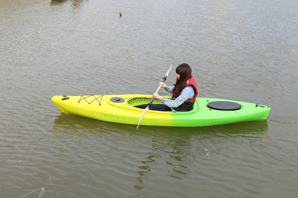 one seat sit in kayak