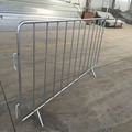 2018 Manufacturers custom low price /Galvanized metal crowd control barrier/used crowd control barriers