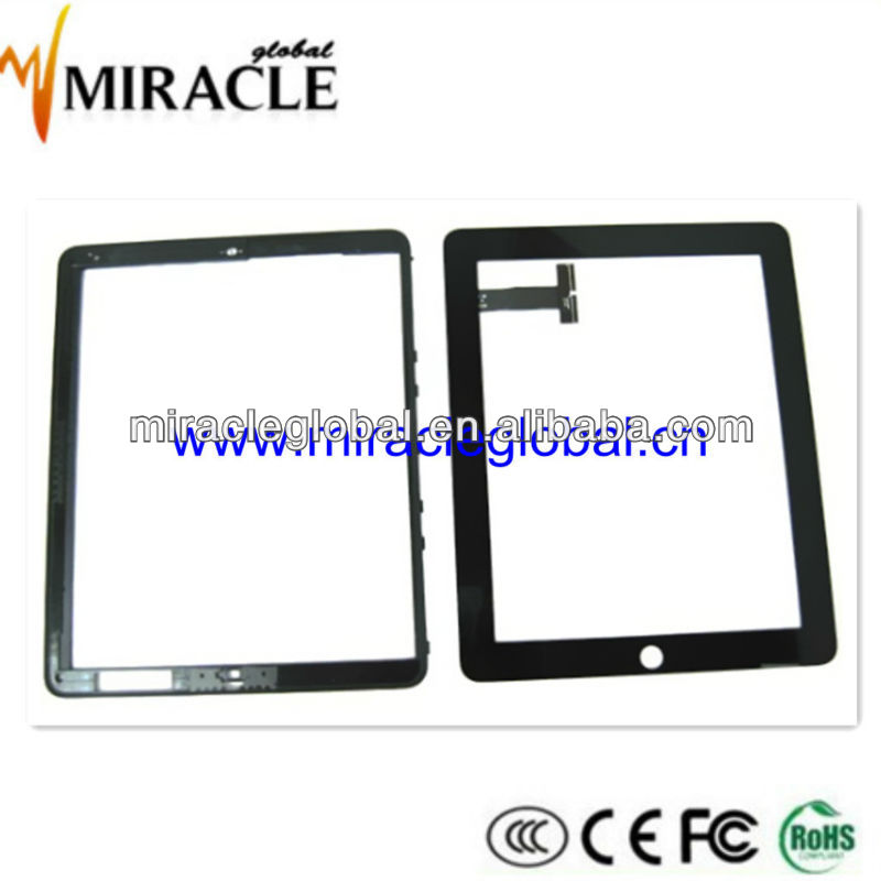 Hot sale cheap touch screen monitor for ipad 1 touch panel black white