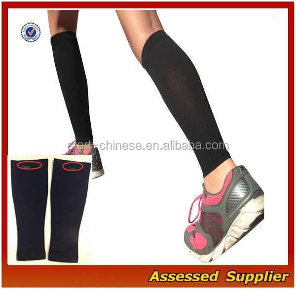 2016 Sports Endurance Support Graduated Shin Splints Calf Compression Sleeves/Men Fashion Running Leg Sleeve Socks ---AMY11051