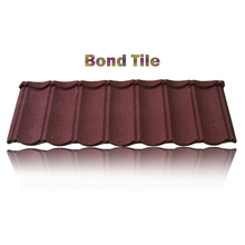 Easy to Install 1340mm*420mm magnesium sheet, waviness stone coated roof tile