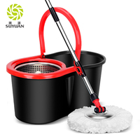 Good Quality and Cheap Price 360 degree Classic Magic Mop with stainless Bucket