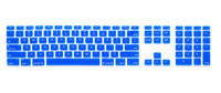 Hot Sale 20 Colors Silicone Keyboard Cover Skin for Apple iMac Wireless Keyboard