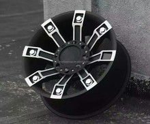 "Wheel Supply 18""19""20""21""black/black machine face replica aluminum alloy wheels -13"