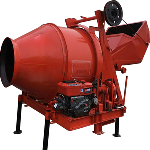 350L mobile engines used portable concrete mixer for sale