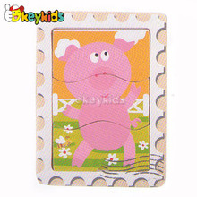 2016 wholesale baby wooden jigsaw puzzle games, fashion kids wooden jigsaw puzzle games, wood jigsaw puzzle games W14C198