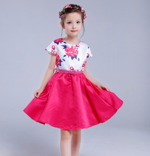 2017 Wholesale children dress cotton frocks design dresses for girls Eco-friendly material
