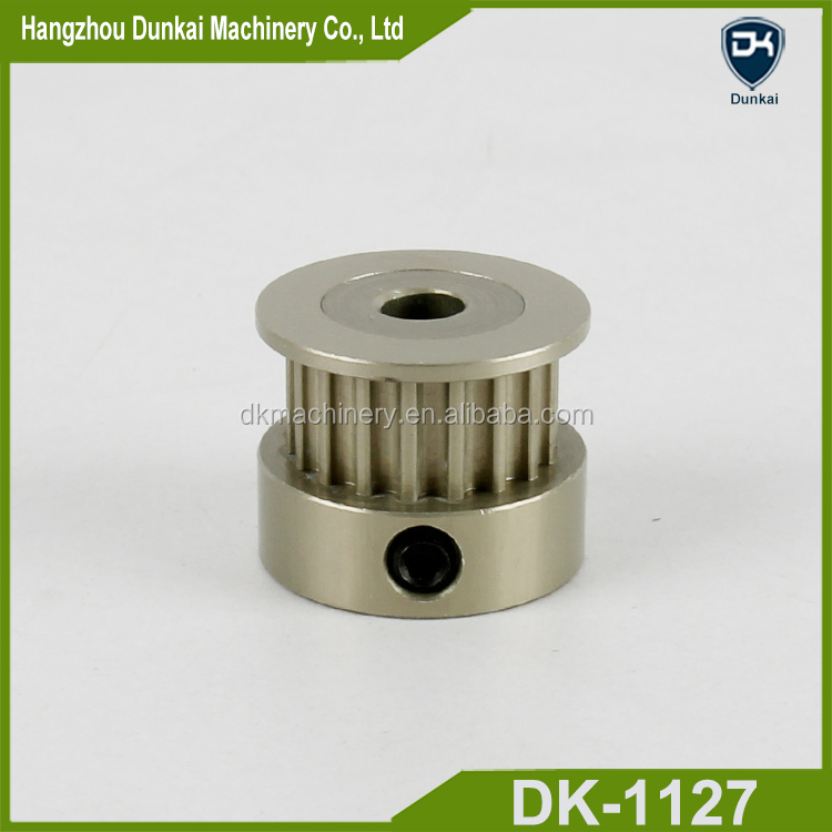 Hangzhou Dunkai supply timing belt hard anodizing synchronous pulley