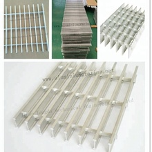 Aluminium walkay floor platform bar grating