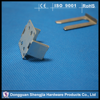 China supplier OEM ROHS spring steel nickel plated auto metal clips