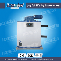 ICESTA 2T sea water Ice maker drum CE easy installation Cheap price on boat