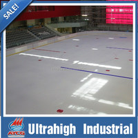 AYCG synthetic board 20mm hdpe plastic board skating rink wholesale/wholesale price synthetic ice rink